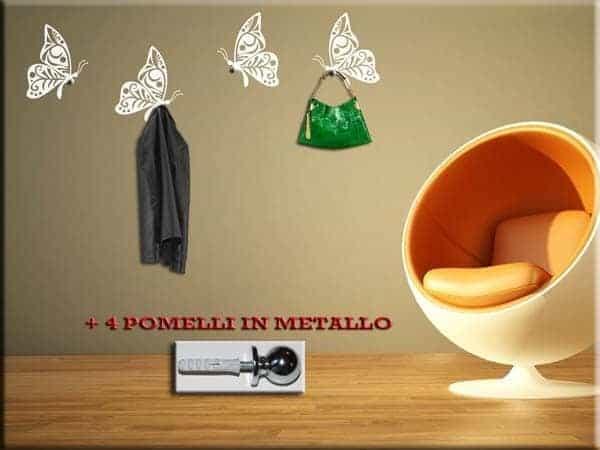 / Shop / ADESIVI MURALI / Adesivi murali appendiabiti / APPENDIABITI ...