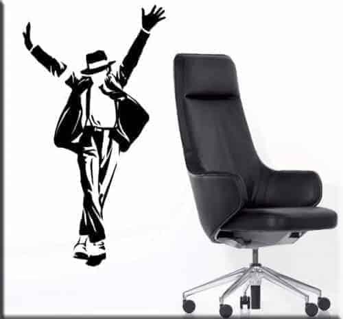 adesivo da parete Michael Jackson