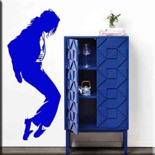 adesivo murale Michael Jackson