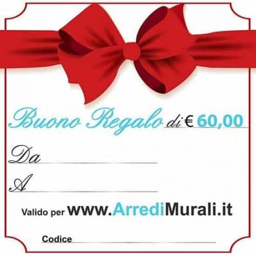 buono regalo adesivi quadri 60 euro