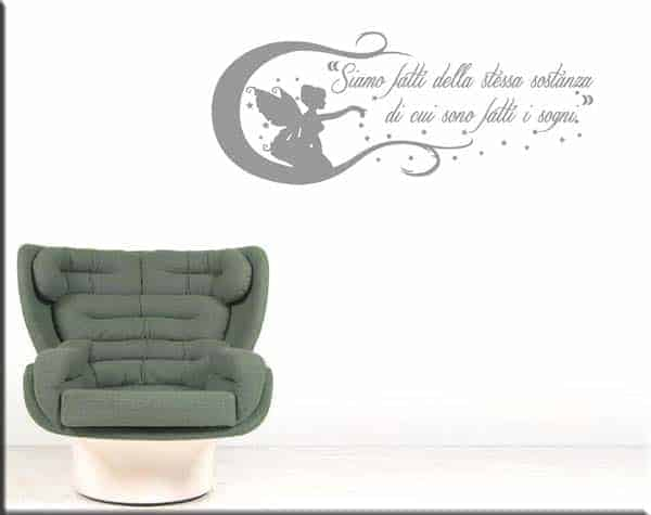 adesivo da muro wall sticker frase William Shakespeare