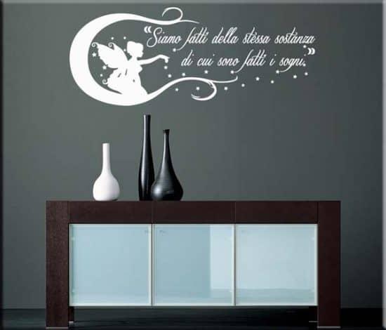 adesivo da parete frase William Shakespeare