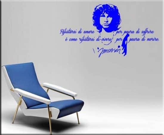 adesivo murale frase Jim Morrison