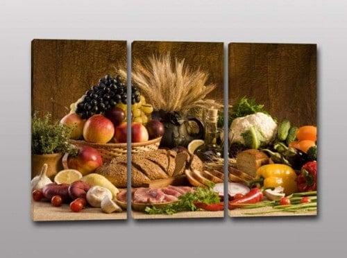 Quadri moderni cucina produzione made in italy - Quadri da appendere in cucina ...