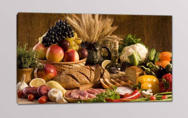 quadro moderno cucina cibo