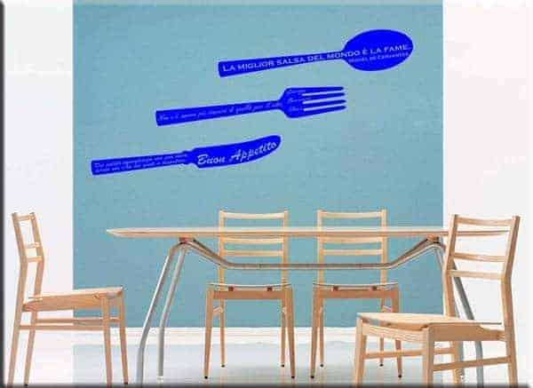 Wall stickers adesivi da parete cucina - Adesivi da parete per cucina ...