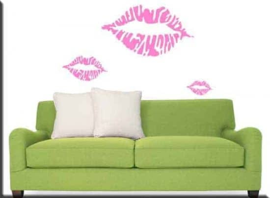 wall stickers kiss