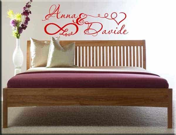 wall stickers personalizzati love