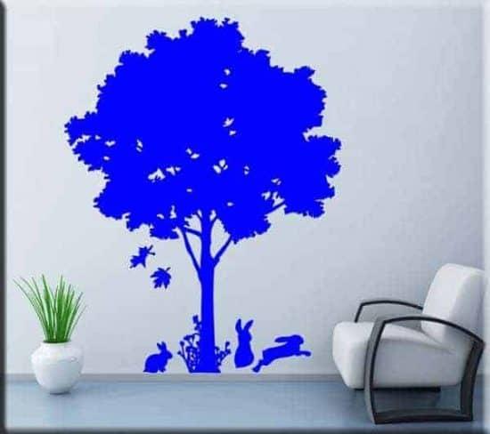 adesivo da muro albero