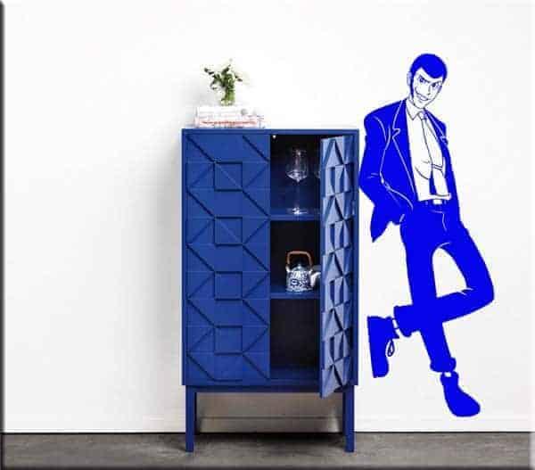 adesivo da parete Lupin