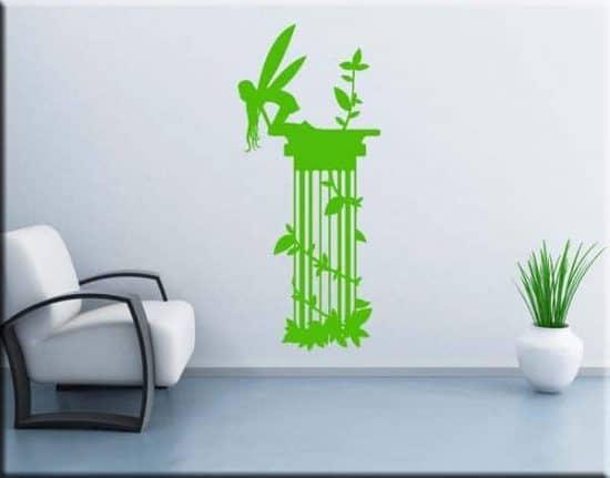 adesivo murale colonna fantasy