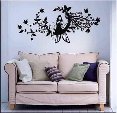 decorazione adesiva murale fantasy
