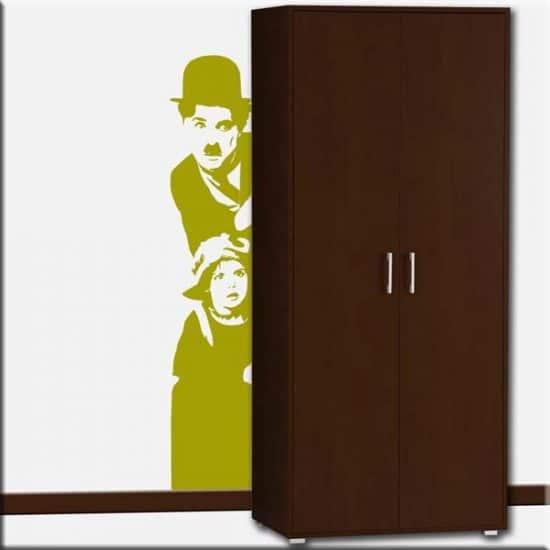 decorazione da parete Charlie Chaplin