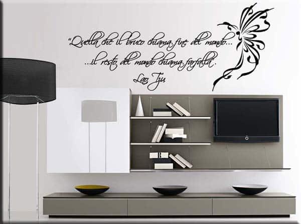 decorazione murale frase Lao Tzu
