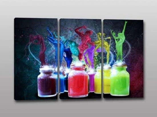 quadri moderni arte colori