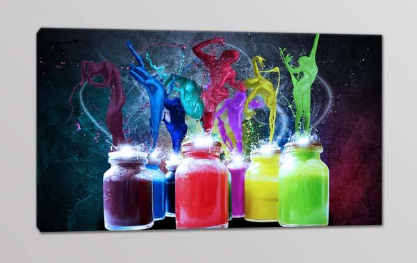 quadro moderno arte colori