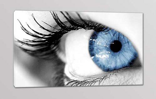 quadro moderno stampa su tela occhio donna