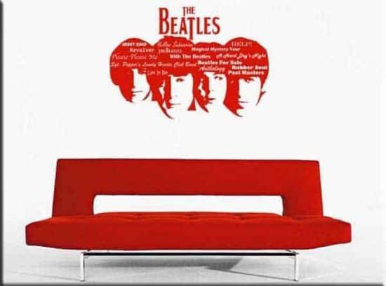 wall sticker BEATLES