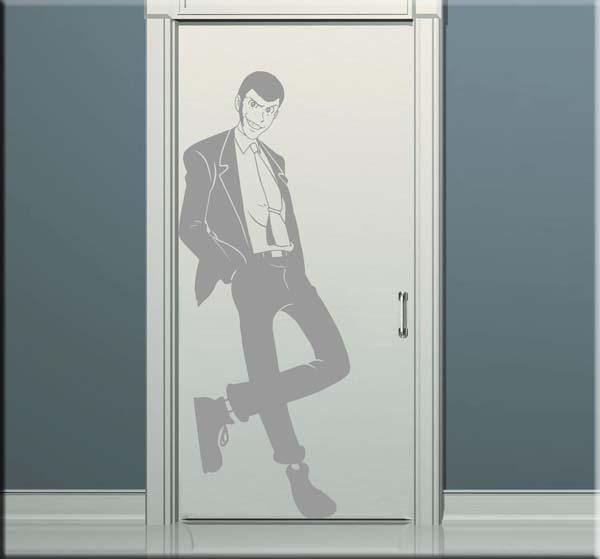 wall sticker adesivo Lupin