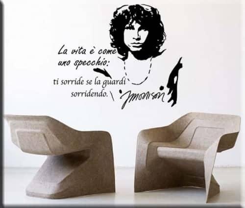 wall sticker frase Jim Morrison