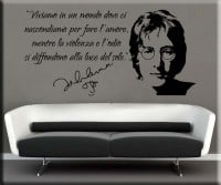 wall sticker frase John Lennon