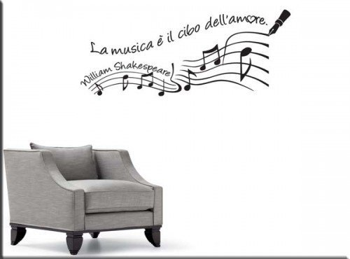 wall sticker frase William Shakespeare