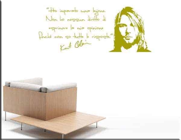 wall sticker frase kurt cobain