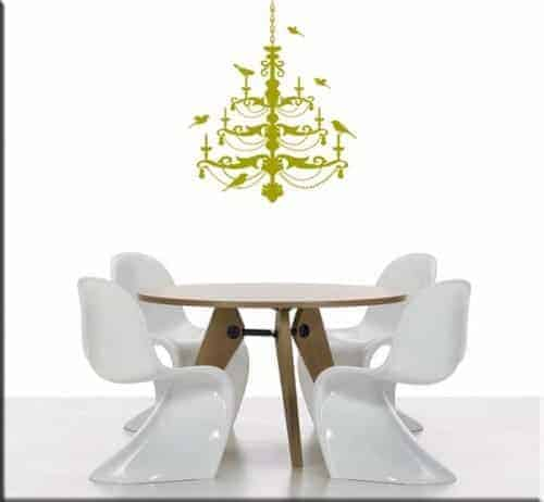 wall sticker lampadario