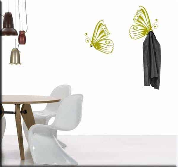 Farfalle da muro ikea idee creative di interni e mobili - Stickers murali ikea ...