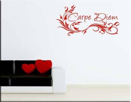 wall stickers adesivi murali carpe diem