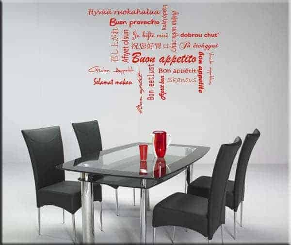 wall stickers buon appetito