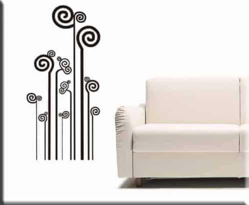 adesivi da parete decorazioni moderne