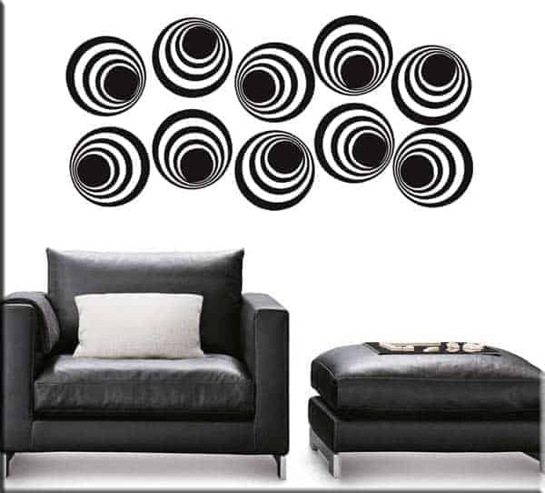 Adesivi da parete decorazioni moderne arredi murali for Decorazioni da parete adesive