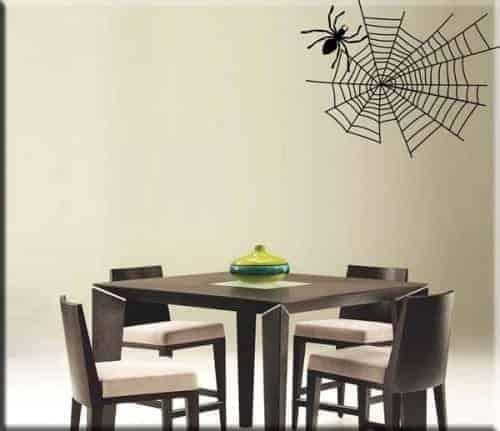 adesivo da parete ragno