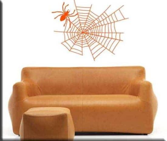 adesivo murale ragno