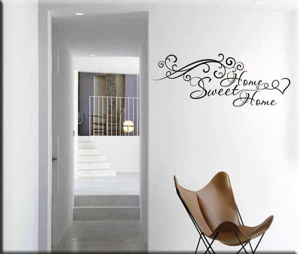 adesivo murale sweet home