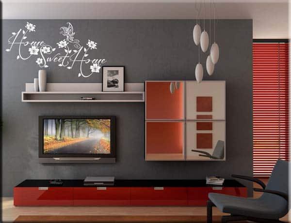 decorazione adesiva sweet home