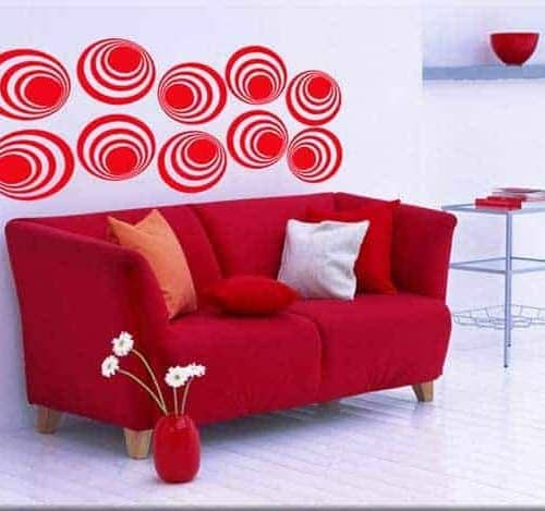 decorazioni adesive moderne