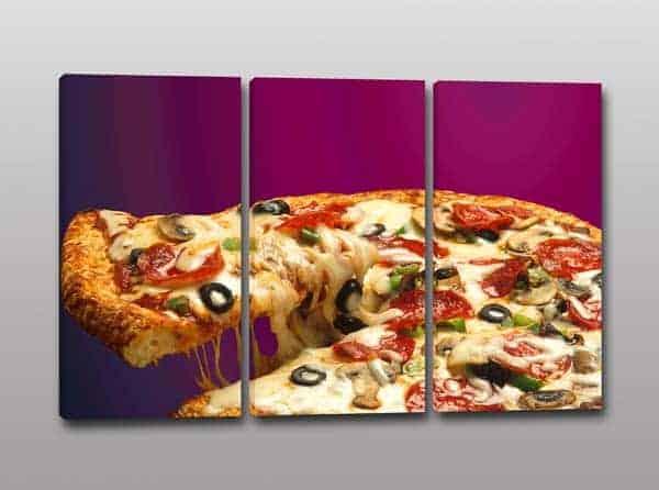 quadri moderni pizza