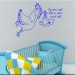 wall sticker bebè personalizzato