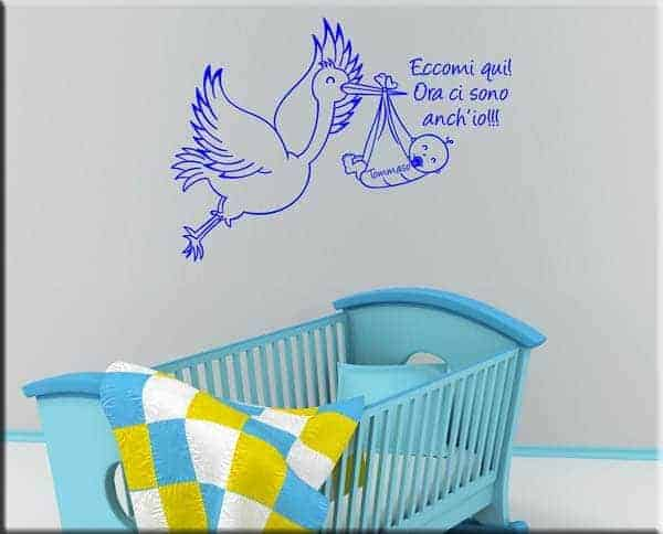 wall sticker bebè personalizato