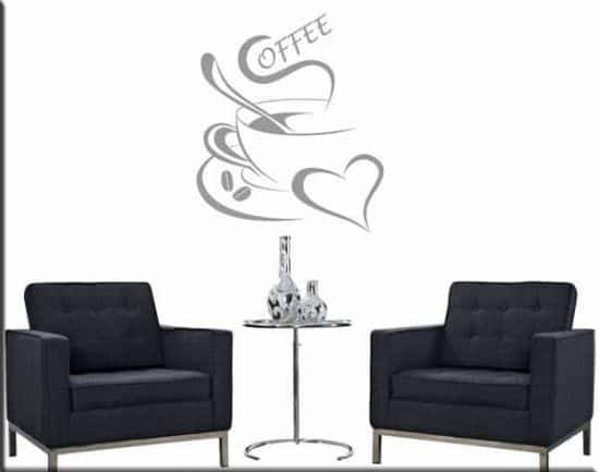 wall sticker coffee bar