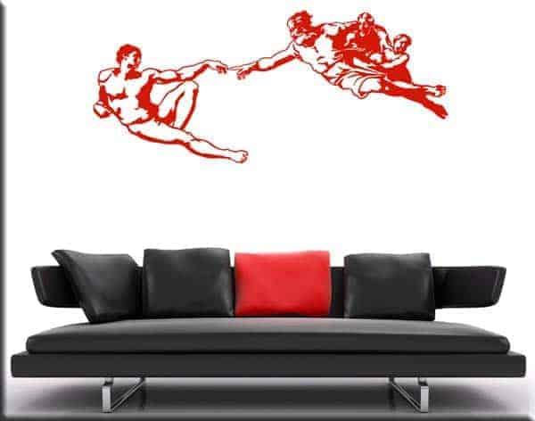 wall sticker creazione di Adamo Michelangelo