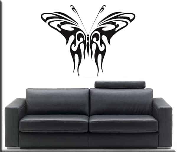 wall sticker farfalla tattoo