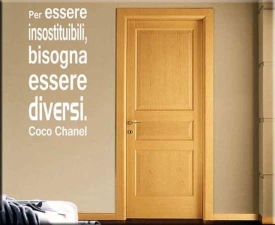 wall sticker frase Coco Chanel