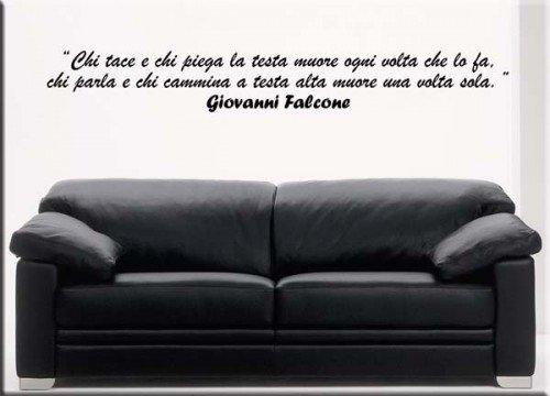 wall sticker frase Falcone