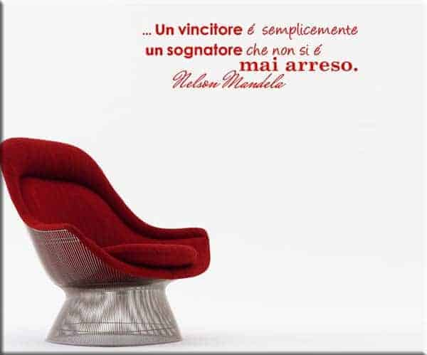 wall sticker frase Nelson Mandela