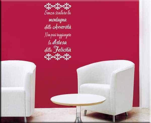 wall sticker frase proverbio tibetano