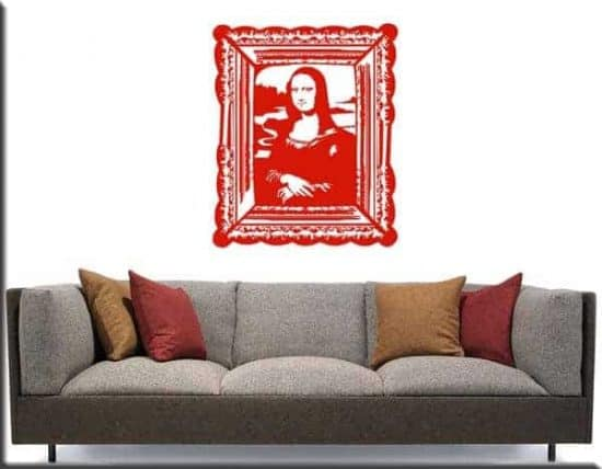wall sticker quadro Monna Lisa