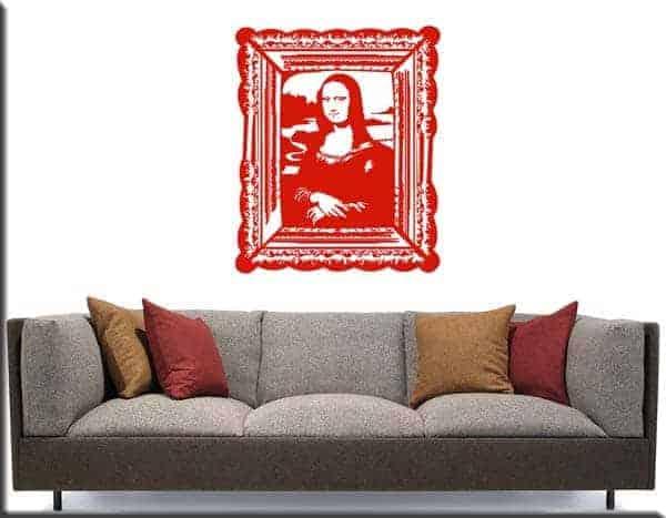 wall sticker quadro Monna Lisa